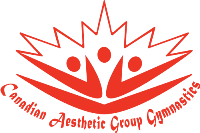 Canadian Aesthetic Group Gymnastics Logo